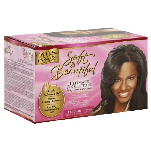 Soft n Beautiful No Lye Relaxer